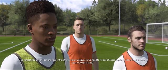 FIFA 18 The Journey - Alex Hunter Practice