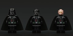 Episode 3 Darth Vader with 3 piece helmet