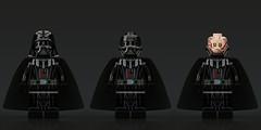 Episode 3 Darth Vader with 3 piece helmet