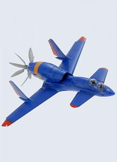 PLUM 《王立宇宙軍》歐尼亞米斯王國 空軍戰闘機 第三斯特拉杜(複座型)1/72比例組裝模型!オネアミス王国 空軍戦闘機 プラム 第3スチラドゥ(複座型)