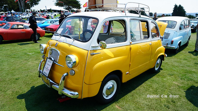 "1958 Fiat ""Multipla"" 6 Passenger at Concorso Italiano 2017"