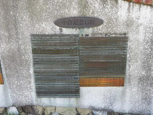 小倉競馬場の小倉記念歴代優勝馬