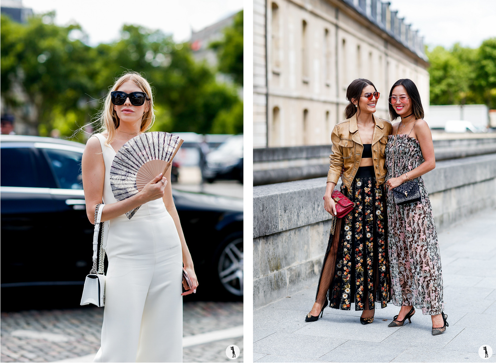 Street style - Paris Fashion Week Haute Couture FW17-18