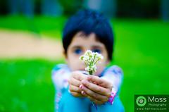 Wed, 05/31/2017 - 19:44 - The Cute Flower (Rishi) holding flowers :) #Cleveland #ohio #USA #Hermass  www.hermass.com www.facebook.com/massphotographyindia