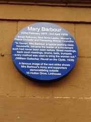 Photo of Mary Barbour blue plaque