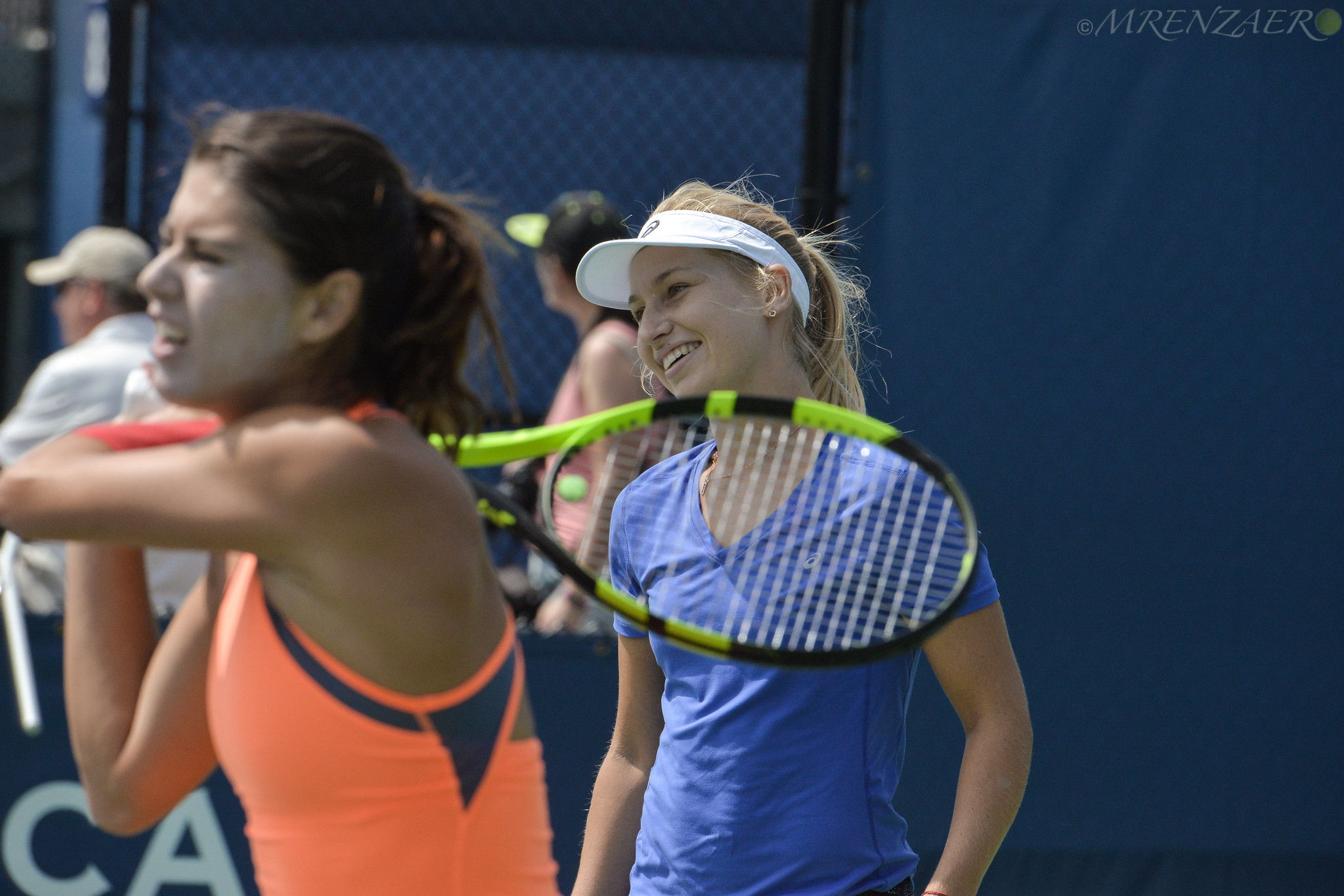 Daria Gavrilova and Sorana Cirstea