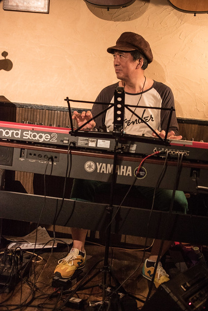 F-Guys Band live at Sam's Bar, Yokohama, 27 Aug 2017 -00223