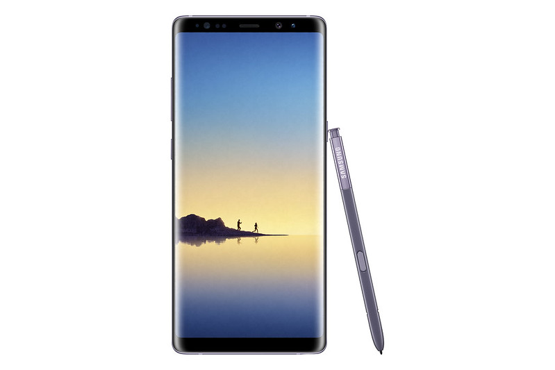 Samsung Galaxy Note 8 - Orchid Grey - Front