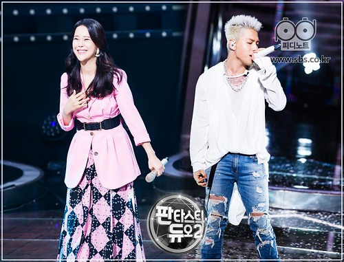 Taeyang Fantastic Duo 2 SBS August 2017 (2)