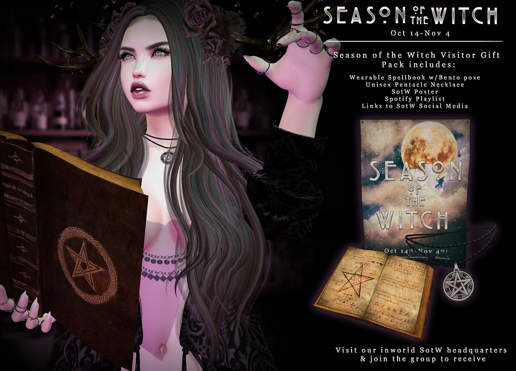 Season of the Witch Headquarters are open! - SecondLifeHub.com