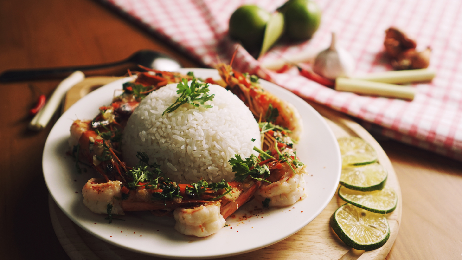 Thai Lemongrass & Chilli Shrimp Recipe