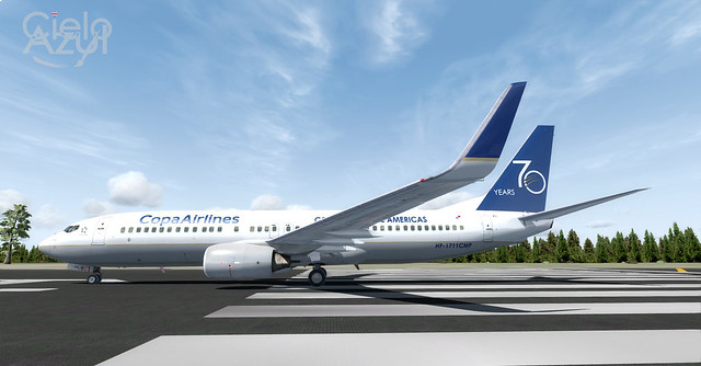Copa Airlines (HP-1711CMP) v1.0