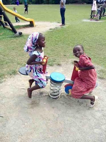 childrenplayingmillenniumpark fct abuja nigeria jujufilms