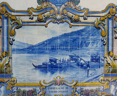 Portuguese tile. From Tasty Travels: Eat Smart in Portugal