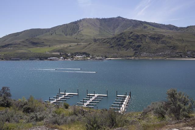 Jet Skis on Lake Chelan