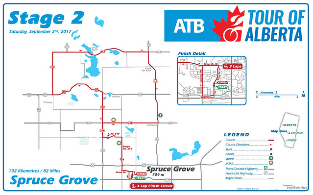Tour of Alberta - Stage 2