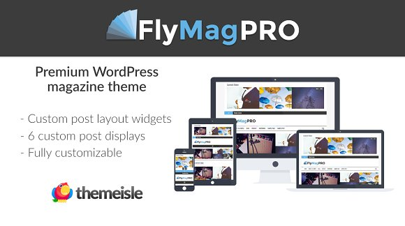 FlyMagPro v2.0.2 – Magazine WordPress Theme