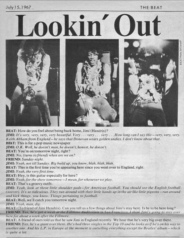 KRLA BEAT MAGAZINE 1967-07-15