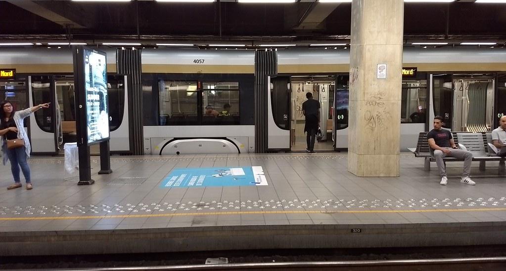 Premetro station, Brussels