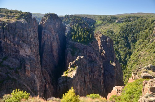 colorado rockformation cliff canyon blackcanyonofthegunnison