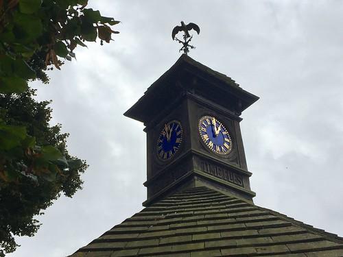 Kensington Gardens clock tower
