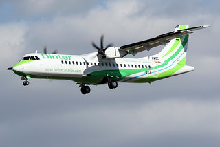 13 septembre 2017 - BINTER CANARIAS - ATR 72-600   F-WWEC  msn 1454 - LFBO - TLS