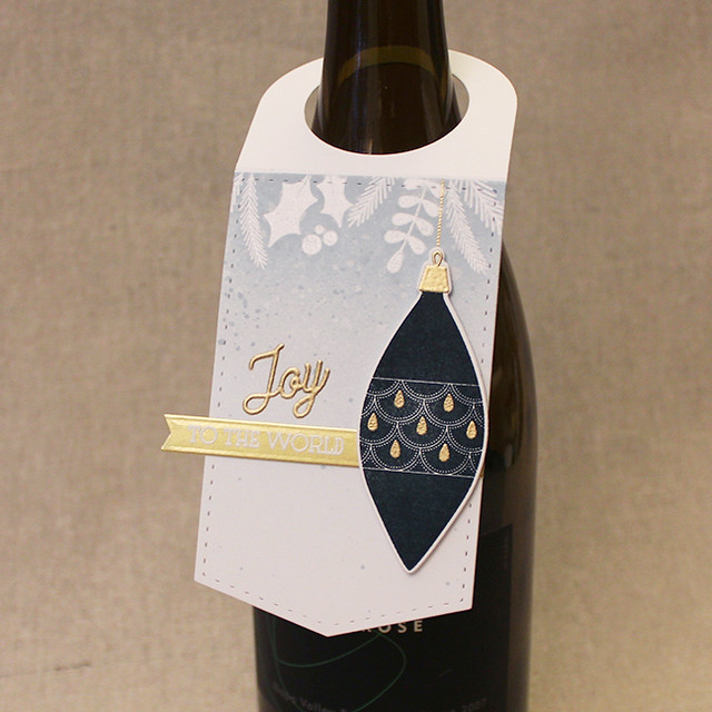 Joy To The World Wine Tag