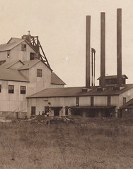 US WISCONSIN WI RPPC c.1908 THE HIGHLAND LEAD MINE originally thought this Mine Works was a MICHIGAN COPPER MINE prior to being merged into the Arcadian Copper Company1-