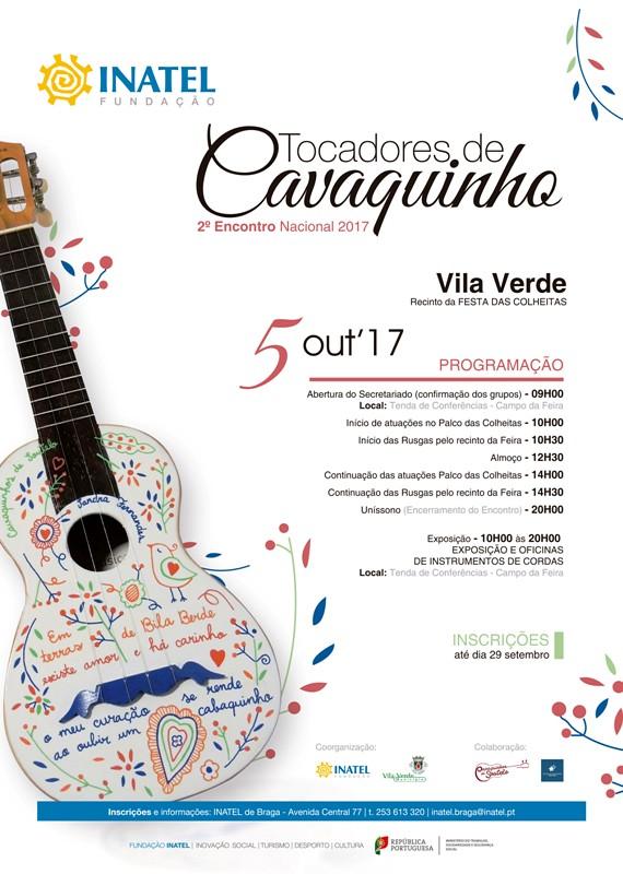 Cartaz A4- EncNac Cavaquinho 2017 - Vila Verde