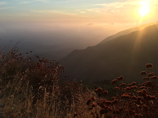 San Gabriels alpenglow 2