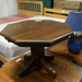 Octagon table oak E40