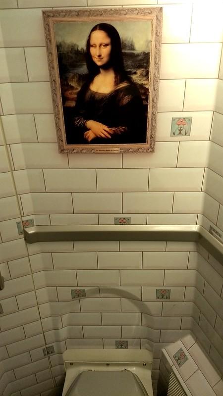 Eurostar toilet