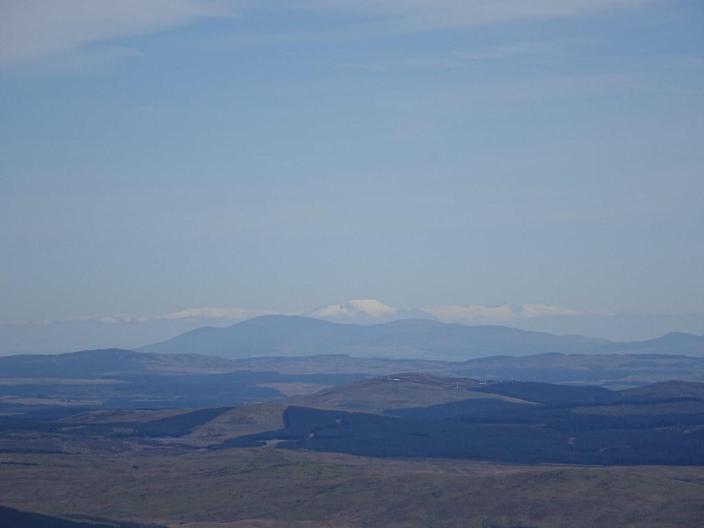 View from Cairnsmore of Carsphairn