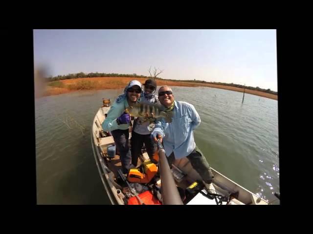 Pesca Esportiva - Represa Três Marias, Ilha de Mangabal, Felixlândia/MG