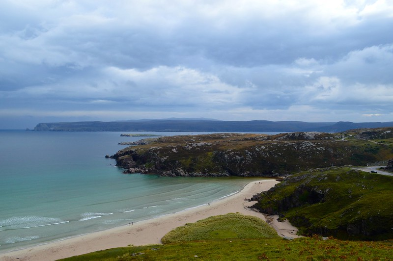 This is a picture of the north coast of Scotland