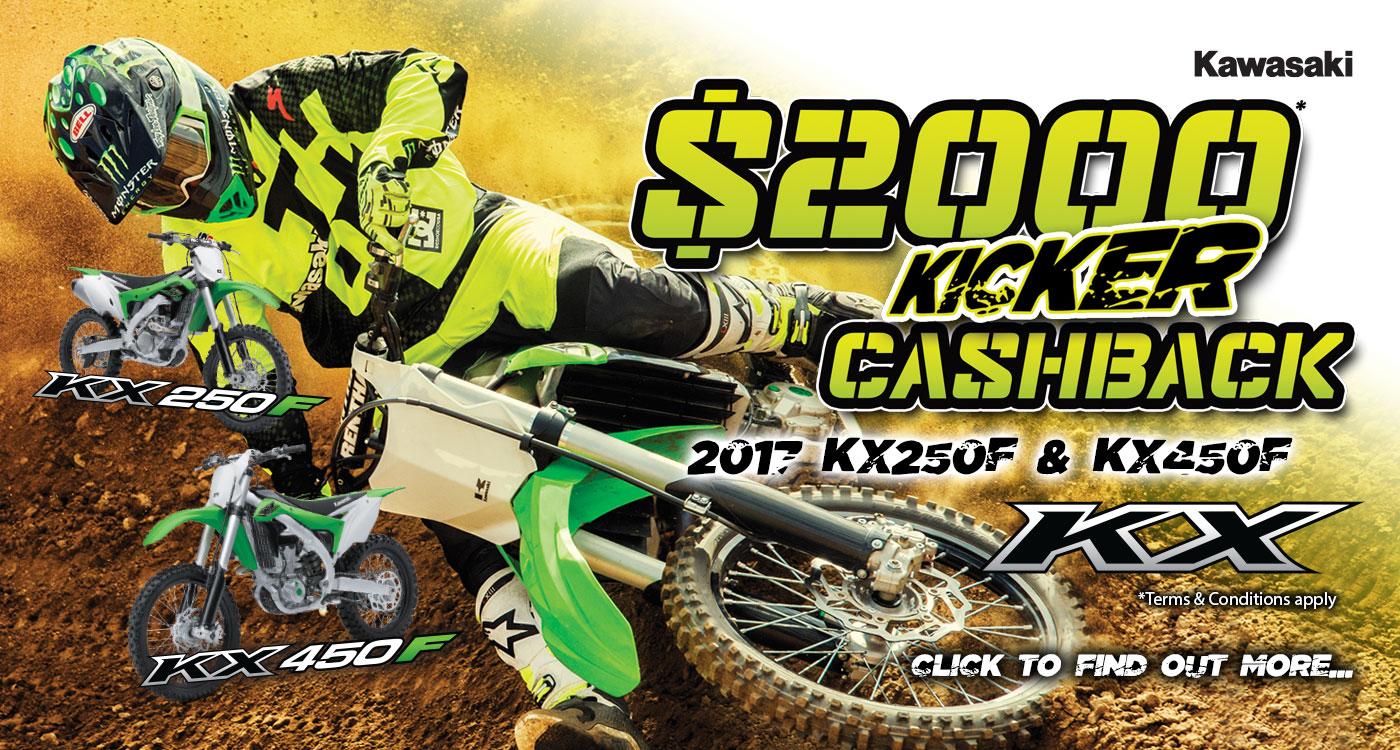 MX Kicker $2000 Cashback