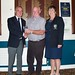 Frank Grehan with Captain and Lady Captain