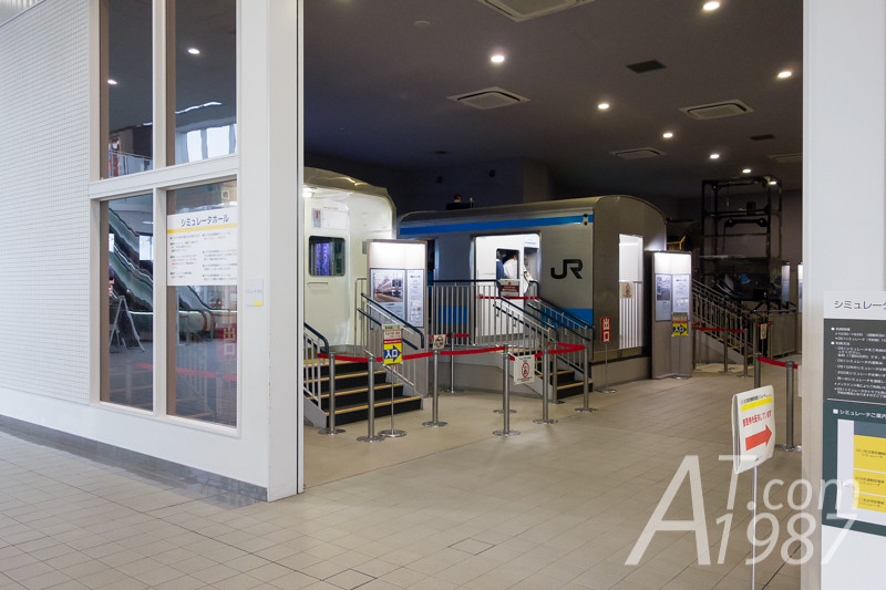The RAILWAY MUSEUM - Simulator Hall