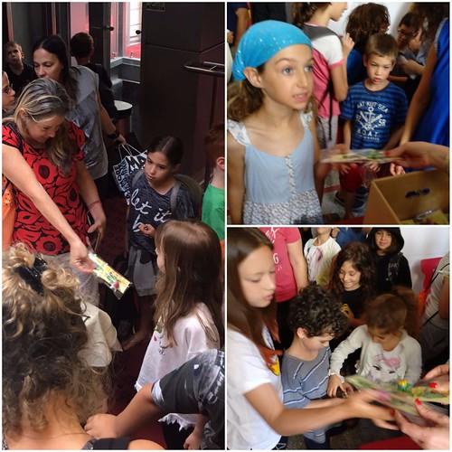"""Filme """"Tesoros"""" se presentó en las escuelas de Israel"""