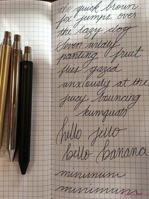 Review @InventeryCo Mechanical Pens - Brass, Chrome, Onyx 16