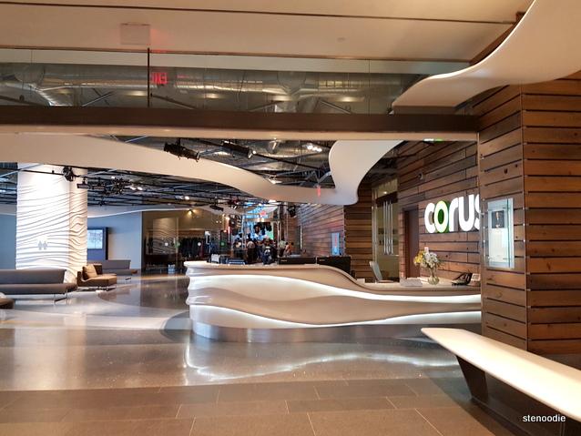 Corus Quay Building lobby