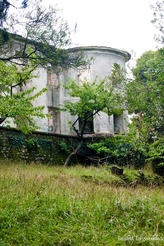 Фрагмент резиденции с башенкой