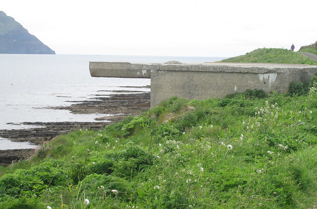 Second Gun Emplacement,  Links Battery, Stromness