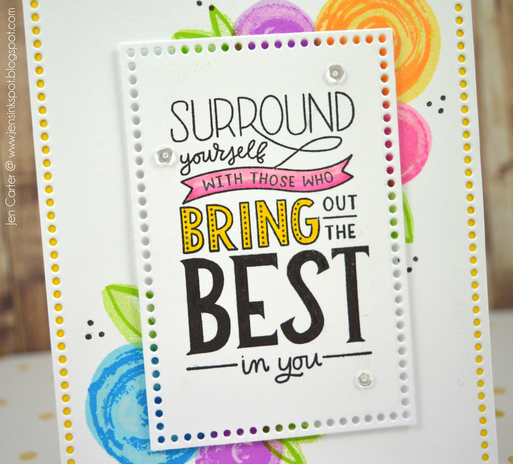 Jen Carter CP Surround Yourself Best in You Closeup