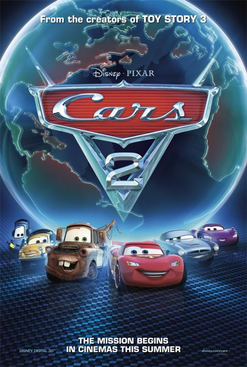 Cars 2 - Poster 3