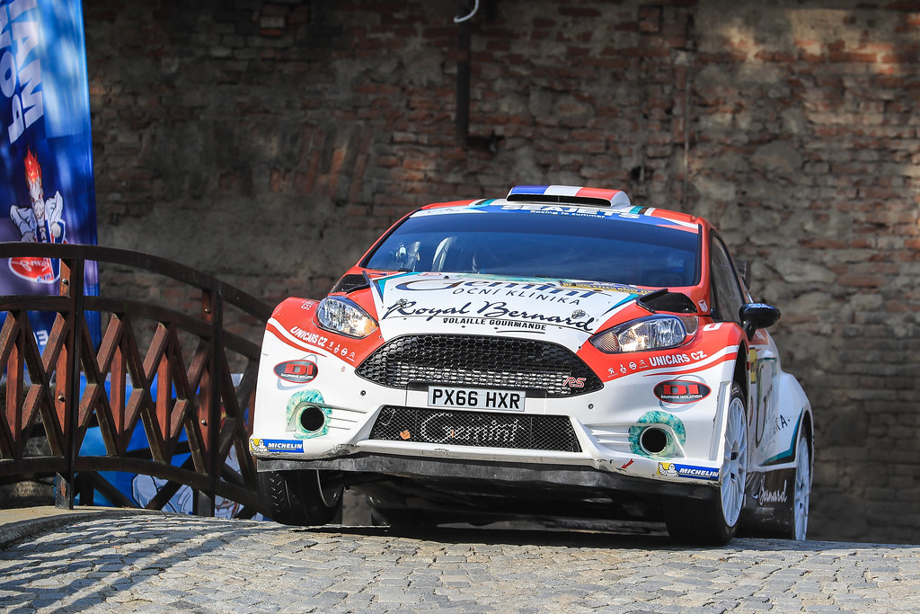 05 BOUFFIER Bryan (FRA)  PANSERI Xavier  (FRA) Ford Fiesta R5 action during the 2017 European Rally Championship ERC Barum rally,  from August 25 to 27, at Zlin, Czech Republic - Photo Jorge Cunha / DPPI