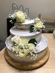 Nice Cake for a wedding!