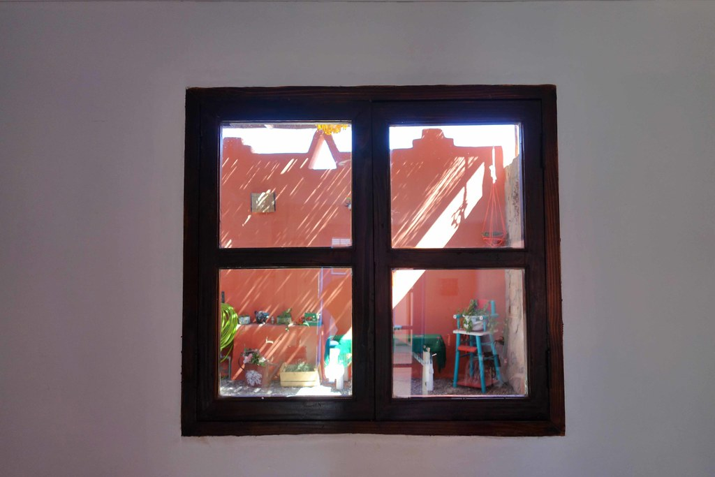 San Pedro Atacama - Hostal Montepardo - Window