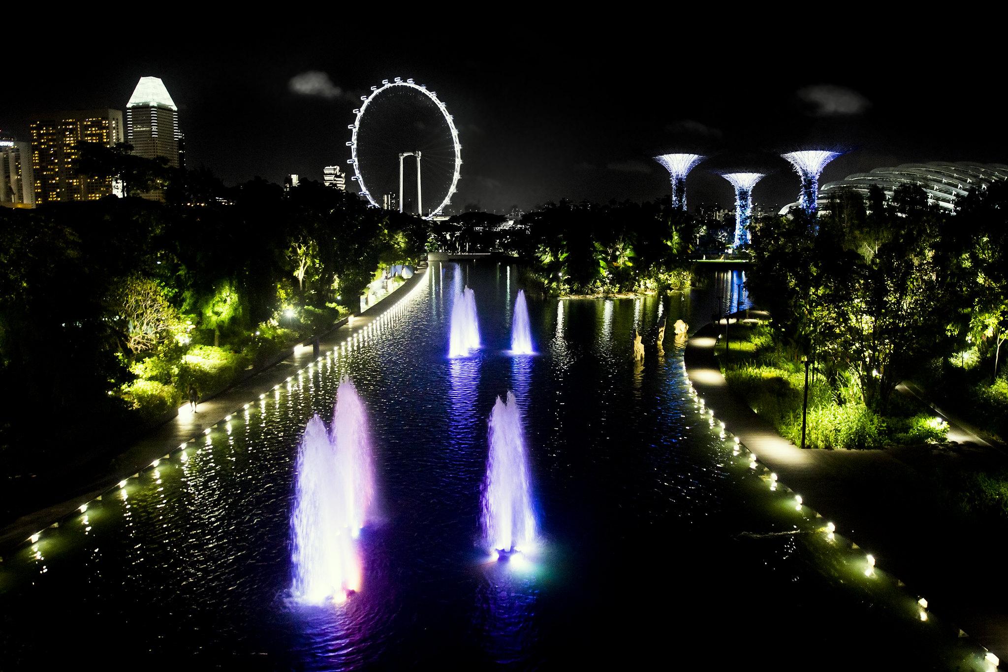 Singapore - den første tid