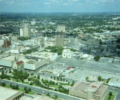 View from HemisFair Tower - 1980